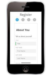 Digital patient registration