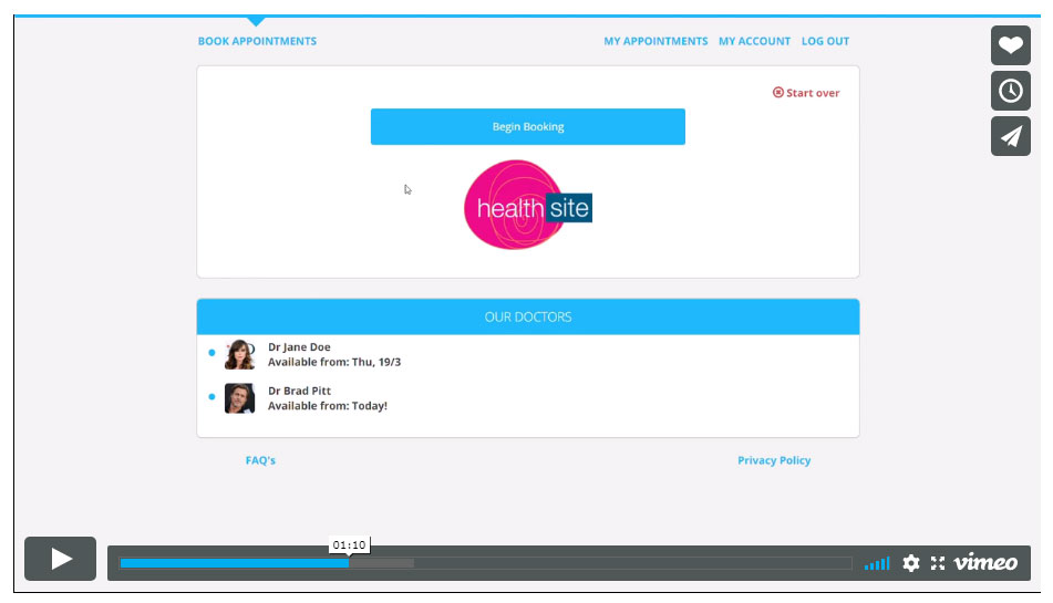 healthsite covid-19 pre-screening